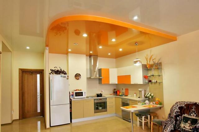 Почему стоит выбрать натяжной потолок?